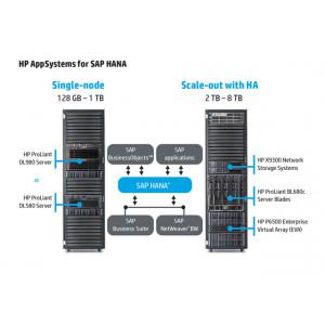 Конфигурация HP AppSystems for SAP HANA с одним узлом HPCSCASSHO